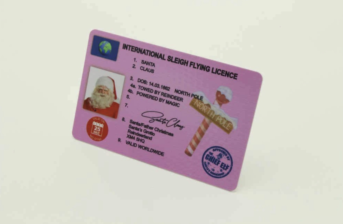 Santa Sleigh Licence Surprise